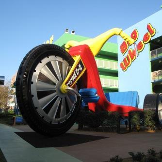 1 big wheel